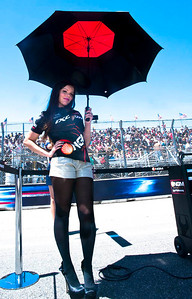 Ubmrella girl for Colin Edwards, NGM Mobile Forward Racing Suter