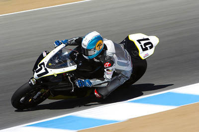 AMA superbike rider Bostjan Skubic