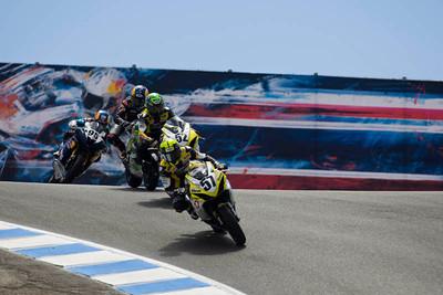 AMA Sportbike race action