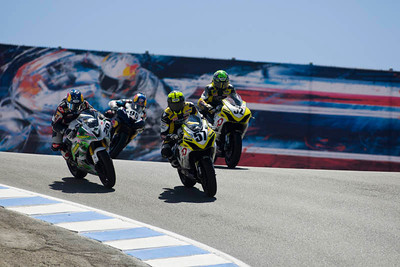 AMA Sportbike race action