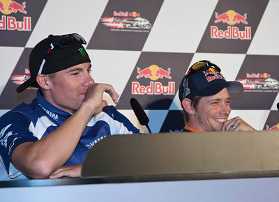 Ben Spies and Casey Stoner react to Colin Edwards critiziing his motorcycle and the CRT class