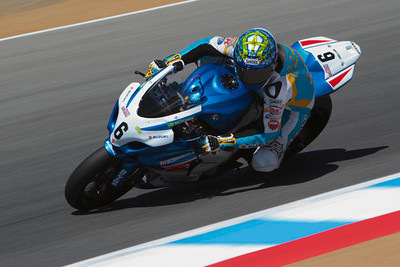 AMA superbike rider Chris Clark