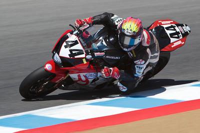 AMA Superbike rider Taylor Knapp