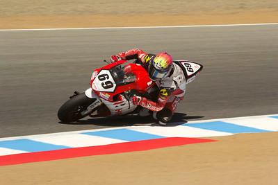 AMA Superbike rider Danny Eslick