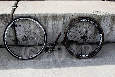 Cal Crutchlows bike Wednesday setup for the 2012 Red Bull USGP MotoGP at Mazda Raceway Laguna Seca