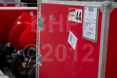 Crate 39 of 47 for Ducati, Wednesday setup for the 2012 Red Bull USGP MotoGP at Mazda Raceway Laguna Seca