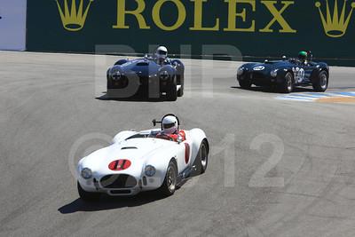 Rolex Monterey Motorsports Reunion at Mazda Raceway Group 3A Saturday