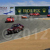 Rolex Monterey Motorsports Reunion at Mazda Raceway Group 4A Saturday
