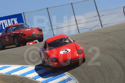 Rolex Monterey Motorsports Reunion at Mazda Raceway Group 4A Saturday