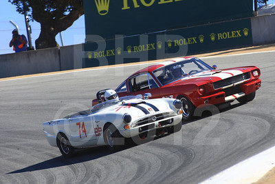 Rolex Monterey Motorsports Reunion at Mazda Raceway Group 7A Saturday