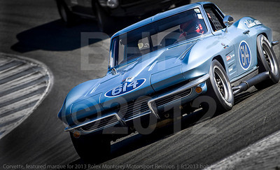 Corvette from Rolex Monterey Motorsports Reunion at Mazda Raceway Group 7A Saturday