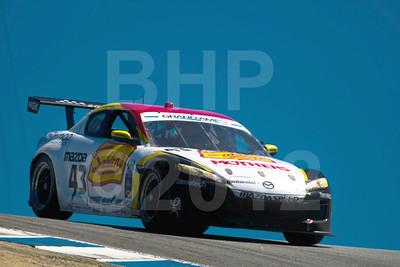 #43 Dane Cameron, Wayne Nonnamaker: Mazda RX-8