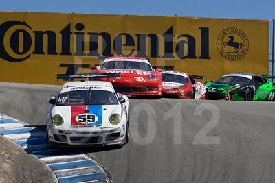 #59 Andrew Davis, Leh Keen: Brumos Racing Porsche GT3