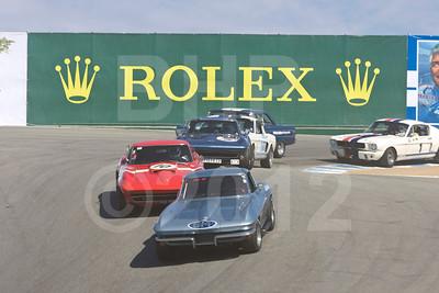 Rolex Monterey Motorsports Reunion at Mazda Raceway Group 7A Saturday
