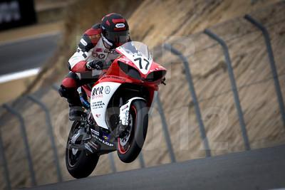 AMA Superbike racer Rickey Corey