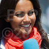"""Known in Spain as """"The Girl with the Golden Smile, Lara Álvarez is a MotoGP reporter for Telecinco"""