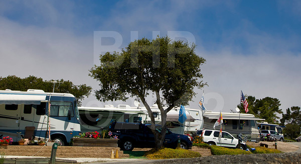 Chaparral RV park at 2012 Red Bull USGP MotoGP at Mazda Raceway Laguna Seca