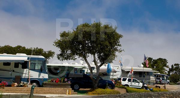 Chaparral RV park at 2012 Red Bull USGP MotoGP at Mazda Raceway Laguna Seca