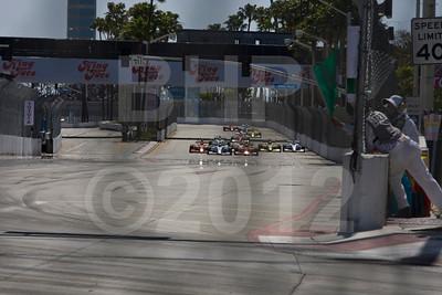 Firestore IndyLights race start, 38th Annual Toyota Grand Prix of Long Beach