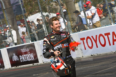 Celebrating victory, Will Power, Verizon Team Penske Chevrolet