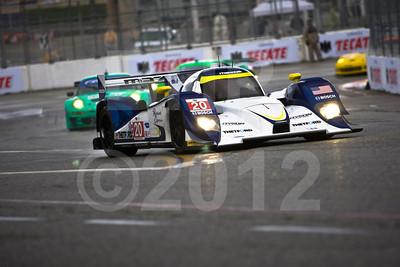 #20 Dyson Racing Team Lola B11/66 Mazda: Michael Marsal, Eric Lux