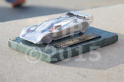 Motorsports Concours d'Elegance Award Cermony 2015 Porsche Rennsport Reunion V at Mazda Raceway Laguna Seca