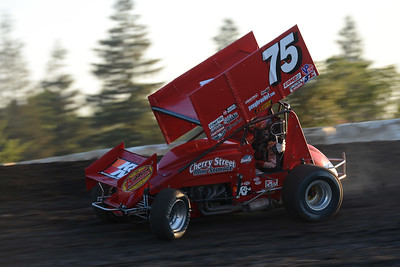 Points Race No. 12 on Friday, July 29, 2016, at the Silver Dollar Speedway in Chico, California. (Dan Reidel -- Enterprise-Record)