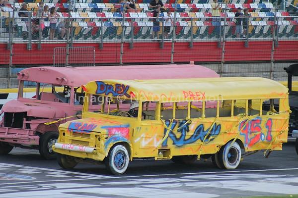 School Bus races Media Mayhem