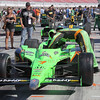 Danica Patrick's #7 Go Daddy caron the grid shortly before the Las Vegas Indy 300. LVMS 10-16-2011
