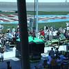 Large Crowds around Danica Patrick's Pit Stall. LVMS 10-16-2011
