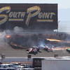 IRL LVMS crash turn 2 10-16-2011 Lap 12