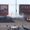 IRL LVMS crash turn 2 10-16-2011Lap 13