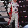 Mario Andrette is introduced at IZOD IndyCar World Championship race at the Las Vegas Motor Speedway in Las Vegas, Nevada October 16, 2011.