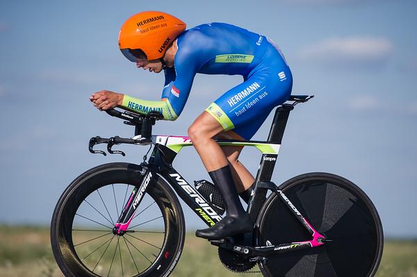 Cycling / Radsport / Deutsche Meisterschaften - Einzelzeitfahren Strasse - Maenner U23 / 28.06.2019 Foto: Mario Stiehl