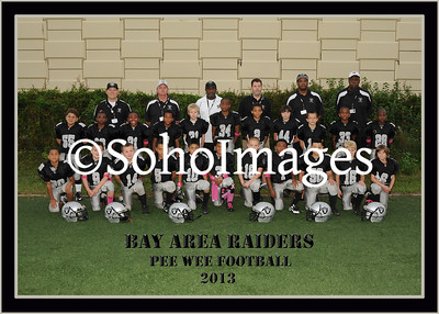 Raiders Football Pee Wee Portraits