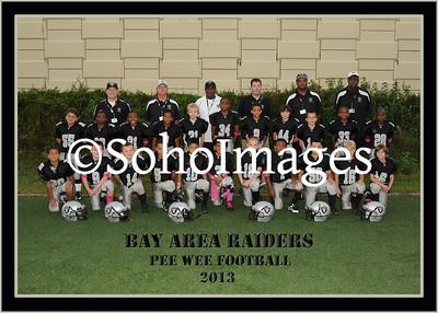 Raiders Football Pee Wee Portraits
