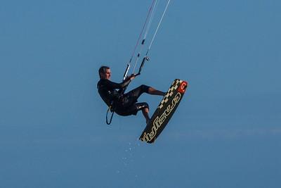 Ramon Kite Surfing