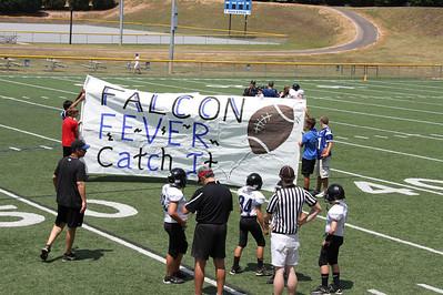 Ramsey's 5th Grade Falcon's - 1st game - 8/27/11