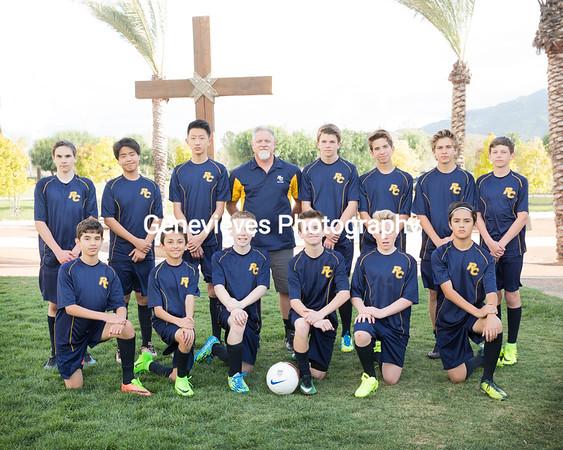 Rancho Christian Varsity/JV Boys Soccer and Basketball