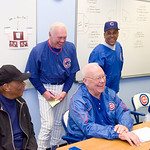 Cubs Fantasy Camp <br /> Randy Hundley<br /> Tuesday January 30 2007<br /> a bit of rain a lot of fun