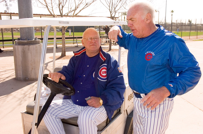 Cubs Fantasy Camp <br /> Randy Hundley<br /> Friday Feb 02 2007<br /> Erin Banks 81th Birthday party<br /> Guests: Glen Beckert Jenkins, Williams, Hundley,Bittner, Cardenal, Eddie Vedder, Jody Davis, Dernier, Fanzone, Morland, Gene Oliver, Pepitone, and more