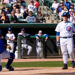 Cubs Fantasy Camp <br /> Randy Hundley<br /> Saturday Feb 03 2007<br /> Campers vs Pros game