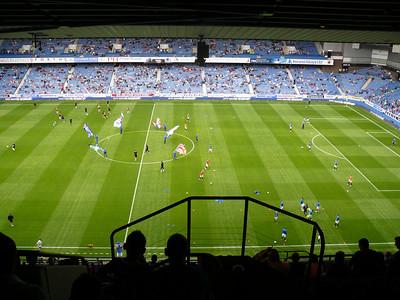 Rangers v Newcastle United