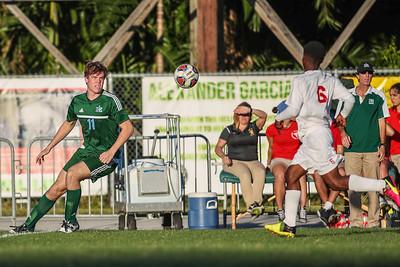 Ransom Everglades vs.Miami Edison.   RE lost 1-0.