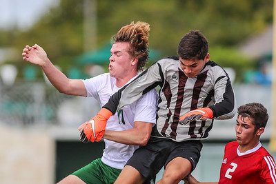 Ransom Everglades Boy's Soccer vs. Key West, 2016
