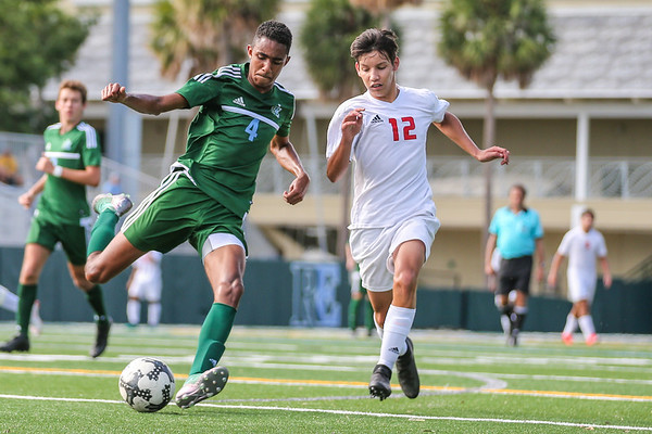 Ransom Everglades Vs. Key West. Boys Soccer. November 2018