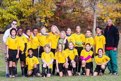 Raptors Soccer: Fall 2012