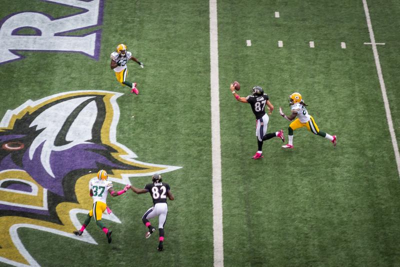 Ravens vs. Packers 10/13/13