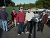 P1010373 Rick, Chris, Dave and Jim by the Lot A sign