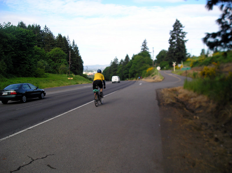 Heading up 99w, on the way to Newberg.
